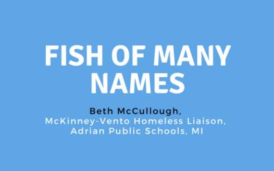 Fish of Many Names