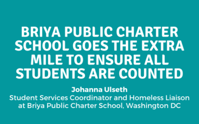 Briya Public Charter School Goes the Extra Mile to Ensure All Students are Counted in the 2020 Census