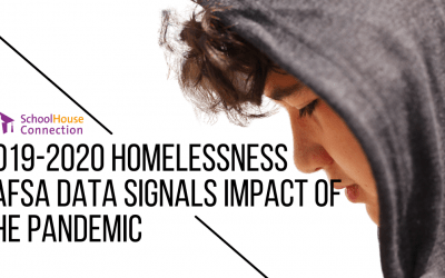 Warning Signs: 2019-20 Homelessness FAFSA Data Signals Impact of the Pandemic