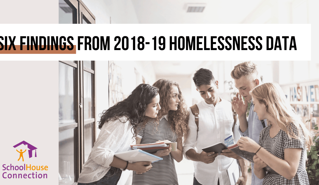 Six Findings from Pre-Pandemic School Homelessness Data That Should Inform Reopening and Recovery